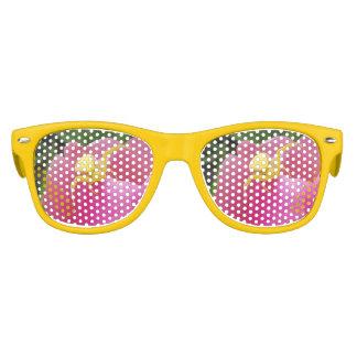 Bright Yellow Crab Spider  Pink Tulip Kids Sunglasses
