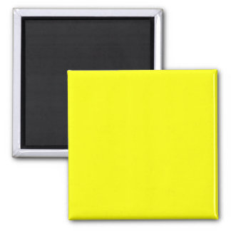 bright yellow DIY custom background template Magnet