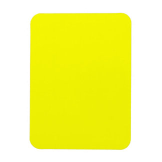 bright yellow DIY custom background template Rectangle Magnets