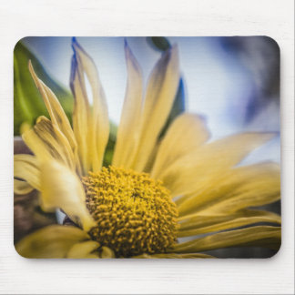 Bright Yellow Flower Mouse Pad