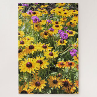 Bright Yellow Flowers Puzzle