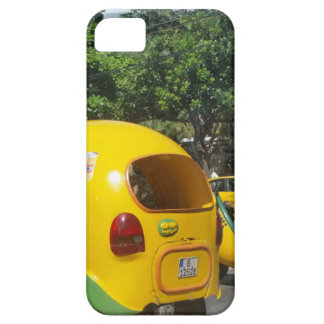 Bright yellow fun coco taxis from Cuba Barely There iPhone 5 Case