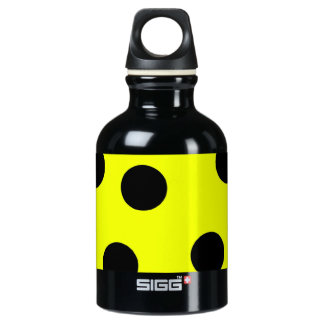 Bright Yellow Polka Dots SIGG Traveller 0.3L Water Bottle