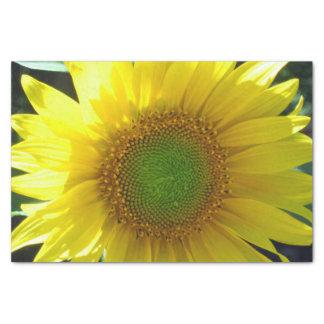 Bright Yellow Sunflower Tissue Paper