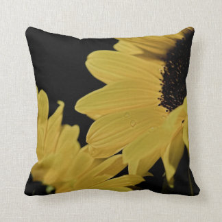 Bright Yellow Sunflowers Pillow
