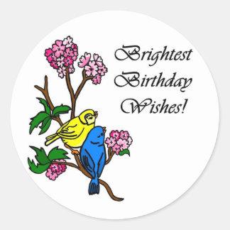 Brightest Birthday Wishes Sticker