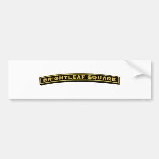 Brightleaf Square Bumper Sticker