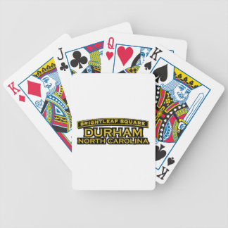 Brightleaf Square Durham Bicycle Playing Cards