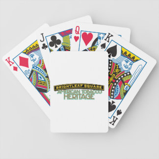Brightleaf Square Tobacco Bicycle Playing Cards