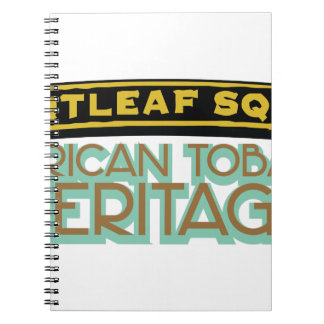Brightleaf Square Tobacco Notebook