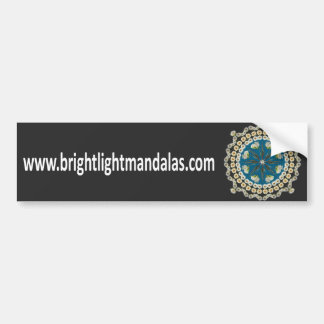 Brightlight Mandalas Bumper Sticker