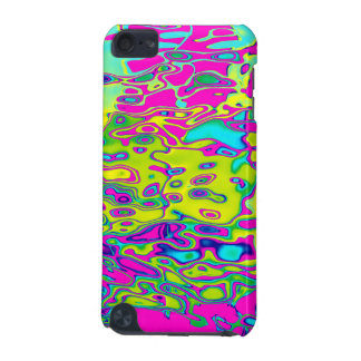 Brightly Colored Crazy Colorful Abstract Pattern iPod Touch (5th Generation) Cases