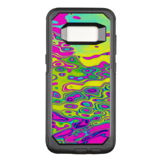 Brightly Colored Crazy Colorful Abstract Pattern OtterBox Commuter Samsung Galaxy S8 Case