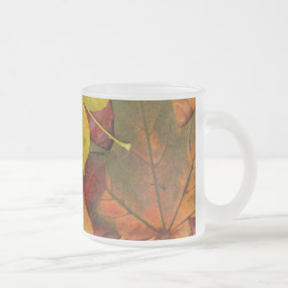 Brightly Colored Fall Leaves Coffee Mug
