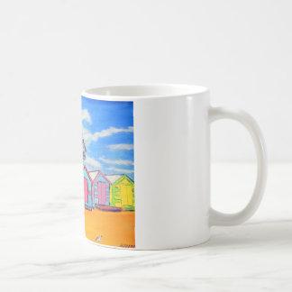 Brighton Bathing Boxes Coffee Mugs