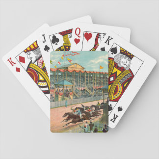 Brighton Beach Racetrack 1887 Playing Cards