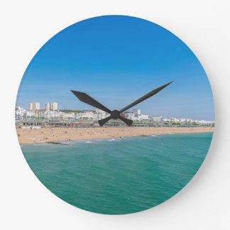 Brighton beach wall clock