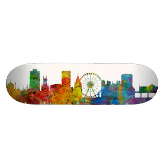 Brighton England Skyline Custom Skate Board