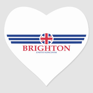 Brighton Heart Sticker