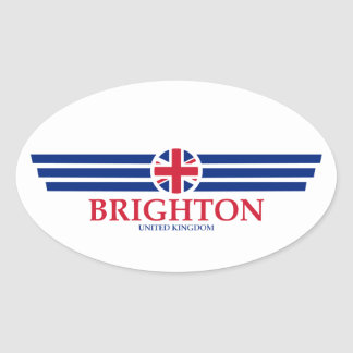 Brighton Oval Sticker