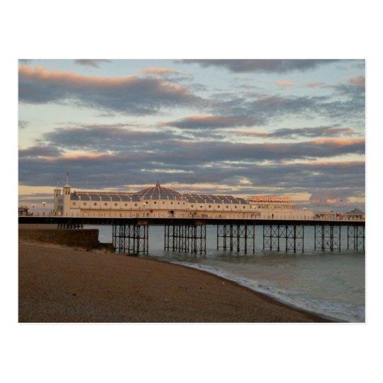 Brighton Palace Pier Postcard