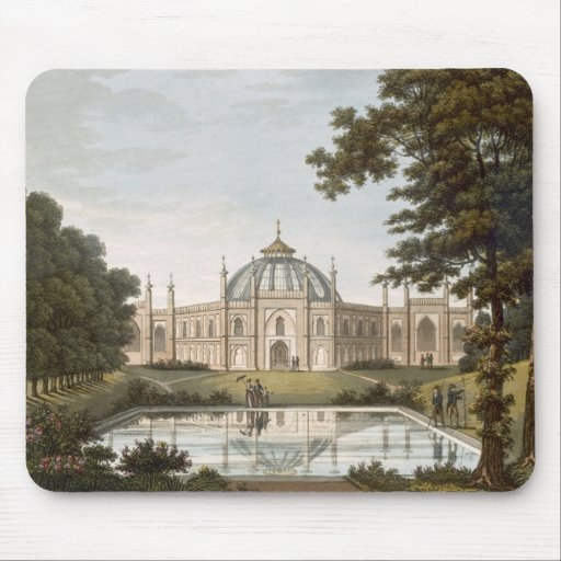 Brighton Pavilion: Proposed view of the garden wit Mousepads