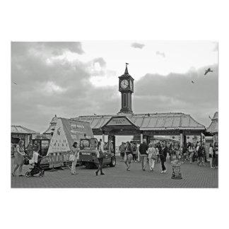 Brighton pier photo print