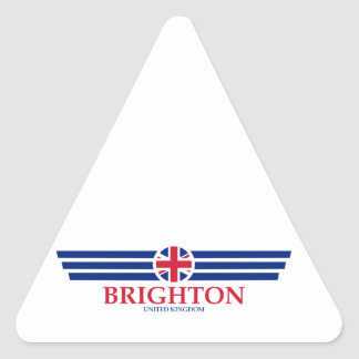 Brighton Triangle Sticker