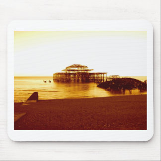 brighton west pier (07) mouse pads