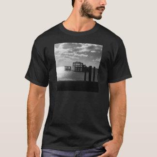 Brighton West Pier black & white T-Shirt