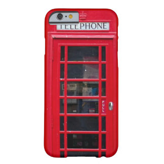 Briitish Telephone Booth for iPhone 6 case Barely There iPhone 6 Case