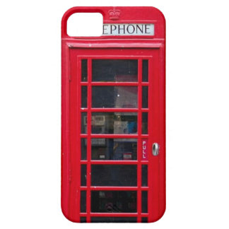 Briitish Telephone Booth for Iphone cover Barely There iPhone 5 Case