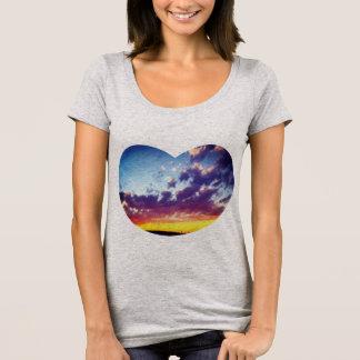 Brillant Heart Sky T-Shirt