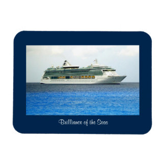 Brilliance in the Caymans Rectangular Photo Magnet