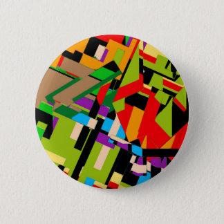 Brilliant Abstract Design 6 Cm Round Badge