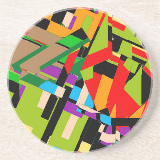 Brilliant Abstract Design Beverage Coasters