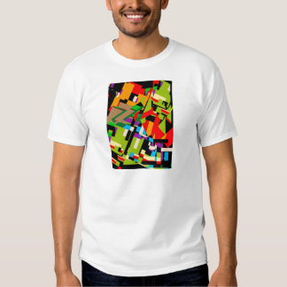 Brilliant Abstract Design T Shirts