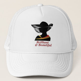 Brilliant and Beautiful Woman Trucker Hat