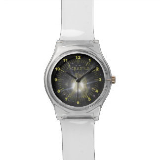 Brilliant Aquarius Watch