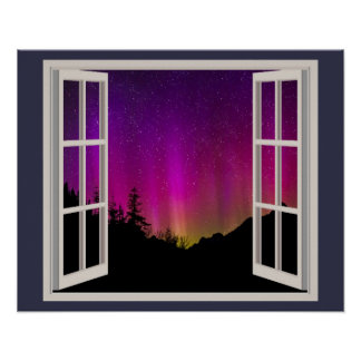 Brilliant Aurora Borealis Poster