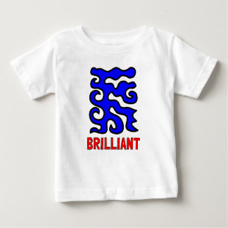 """Brilliant"" Baby Fine Jersey T-Shirt"