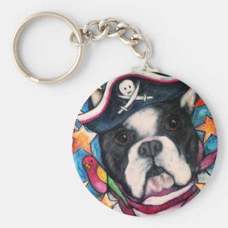 Brilliant Bulldog Key Ring
