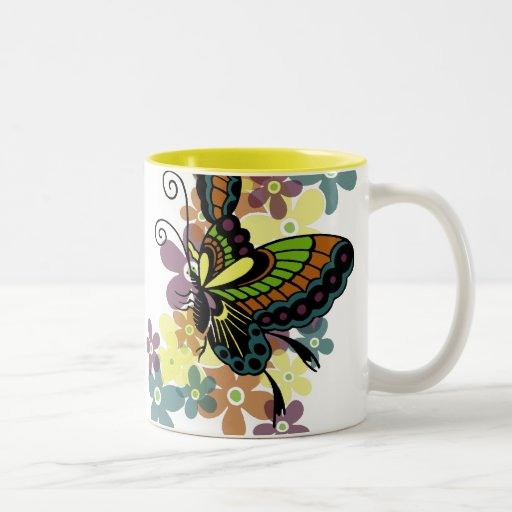 Brilliant Butterfly Coffee Mugs