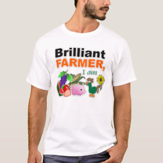 """Brilliant Farmer"" Basic T-Shirt"