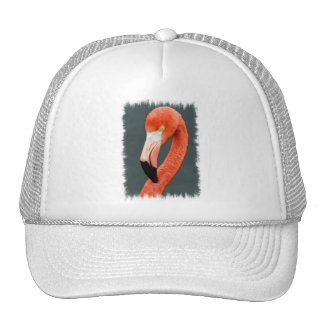 Brilliant Flamingo Baseball Cap Mesh Hats