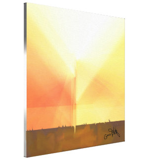 Brilliant Light Canvas Print