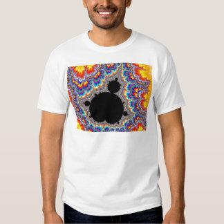 Brilliant Multicolor Mandelbrot Set Fractal T Shirt