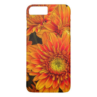 Brilliant Orange Flower Lovers IPhone 7 case