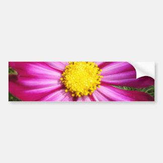 Brilliant Pink Cosmo Bumper Sticker