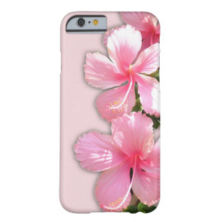Brilliant Pink Hawaiian Hibiscus Flowers Barely There iPhone 6 Case